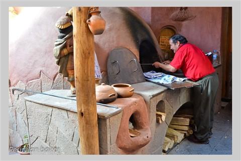 Peruvian baker