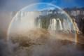 Photo taken at Brazilian side of Iguazu Falls, Iguaçu National Park, Paraná State, Brazil.