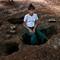 Burmese school girl