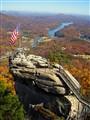 Chimney Rock in Beautiful North Carolina