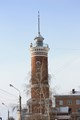 Fireman Tower in the geographical centre of Omsk City (Russia)