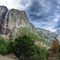 Yosemite Falls and Half Dome