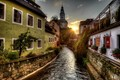 Early Morning in Cesky Krumlov