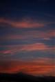 Sunset over Hanmer springd, NZ