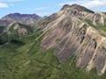 Alaska Mountain Range Denali NP