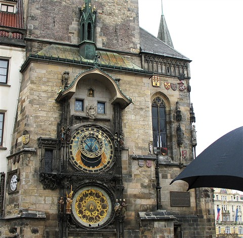 Astronomical Clock in Old Town Prague CZ Pic 2