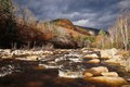 Weather mix over Pemigewasset River
