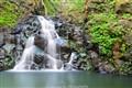 Waterfall in Kalihi Valley