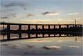 Westgate Bridge At Sunset
