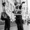 2017-01-31 Australia Melbourne Street Cop BW