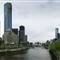 Southbank precinct Melbourne Australia