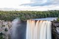 view of Kaieteur Falls on the Potaro River Guyana