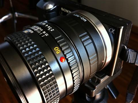 1. Nex + MD 50mm
