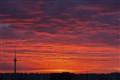 Orange-gold sky