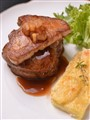 Foie Gras on Tenderloin Steak
