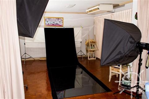 Small Home Studio Black Background-1