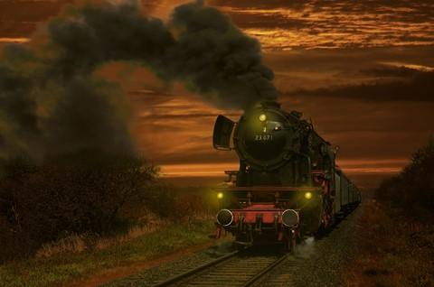 sunset train noise int
