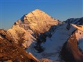 evening glow on the big Wiesbachhorn (Austrian Alps)
