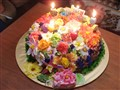 Floral Cake For Birthday