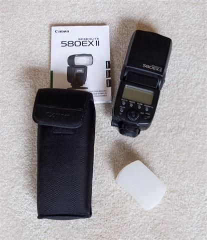 Canon 580EXII Speedlite----