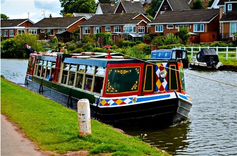 Tiverton Canal Barge