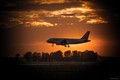 JET EASY JET FIUMICINO - SUNSET 1280