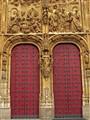 The Red Door of The Church