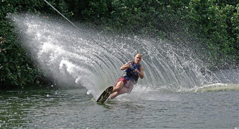 River Skiing