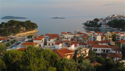Skiathos Harbour & Bourtzi