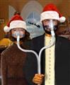 An American Gothic Sleep Apnea Merry Christmas