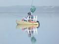 Kayak, early morning fishing