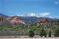 Pike's Peak from Garden of the Gods