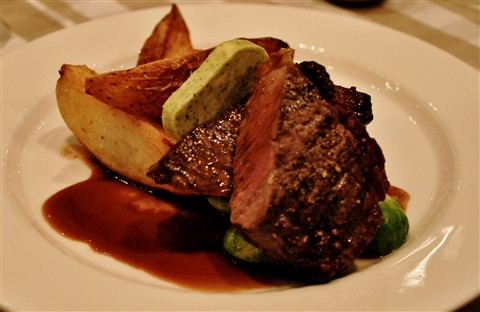 Steak at Fabian