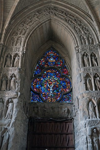Inside Notre Dame Cathedral, Reims