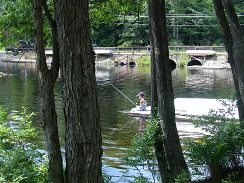 Sophia fishing 2009