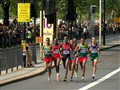 At the 2012 London Olympic Marathon