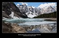 Moraine Lake in the Valley of the Ten Peaks, Banff National Park