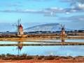 Salt Flat Windmills Sicily
