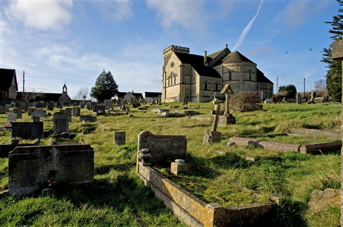 Village Church and Graveyard
