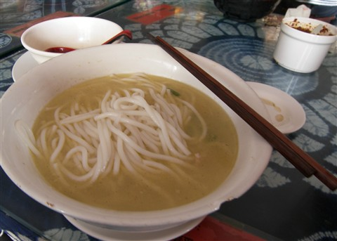 cross bridge noodle soup