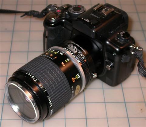 GH2 & Nikon 105mm f2.8 AI-S 2