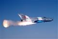 MiG-21 Lancer missile launch