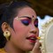 Bali Dancer's Make-up