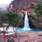 Havasu Falls on the hike out 5 am