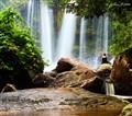 Serenity WaterFalls in Phnom Kulen, Siem Reap, Cambodia