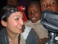 Elaine in Losho Maasai Village, Kenya