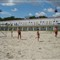 Football on the beach at Mamaia