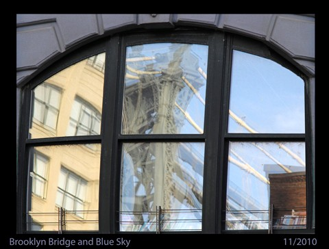 BrooklynBridgeReflectionLR