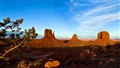 Monument Valley before sunset