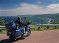 Bike on Cabot Trail
